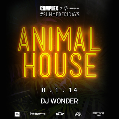 @TeamEpiphany #SUMMERFRIDAYS - Animal House Cover copy