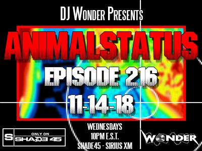 AnimalStatus Episode 216 Tracklist – DJ Wonder™
