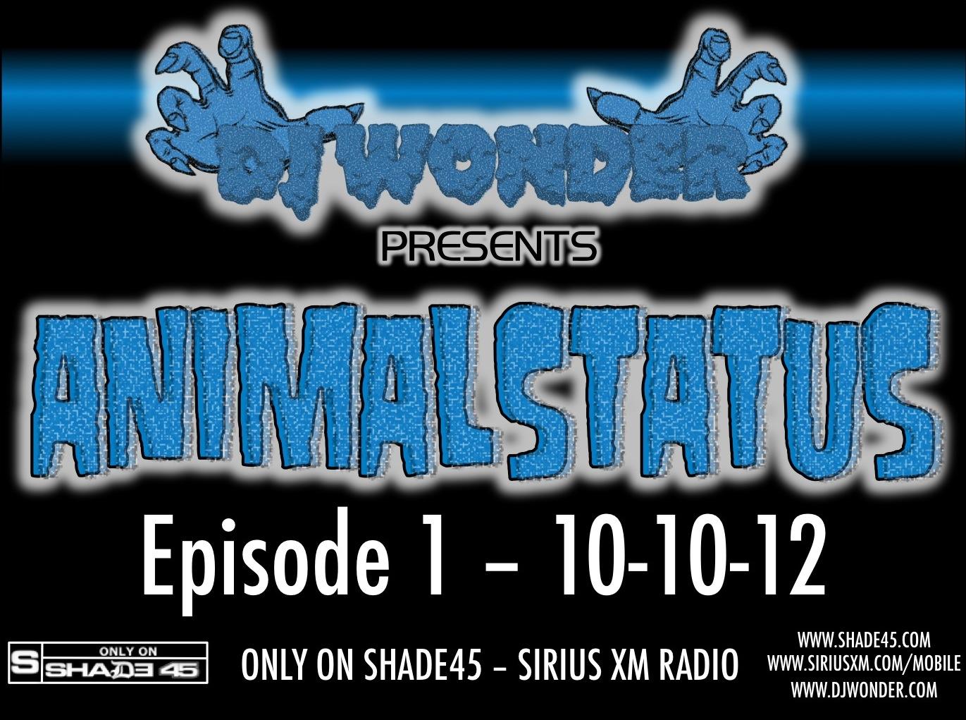 Animalstatus Episode 1 Tracklist Dj Wonder